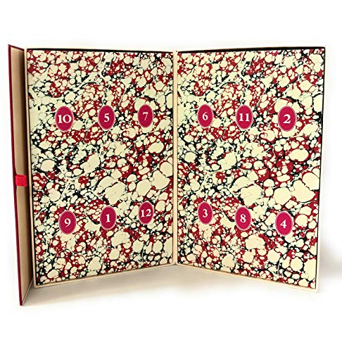 (Advent Calendar 12 Days Of Christmas Hand Therspy Set Red Berry And Fur, Frosted Spicewood, White Cardamon, Citron, Rosewater, Pear .9 Oz x 12)