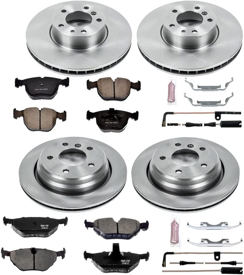 Autospecialty KOE509 1-Click OE Replacement Brake Kit