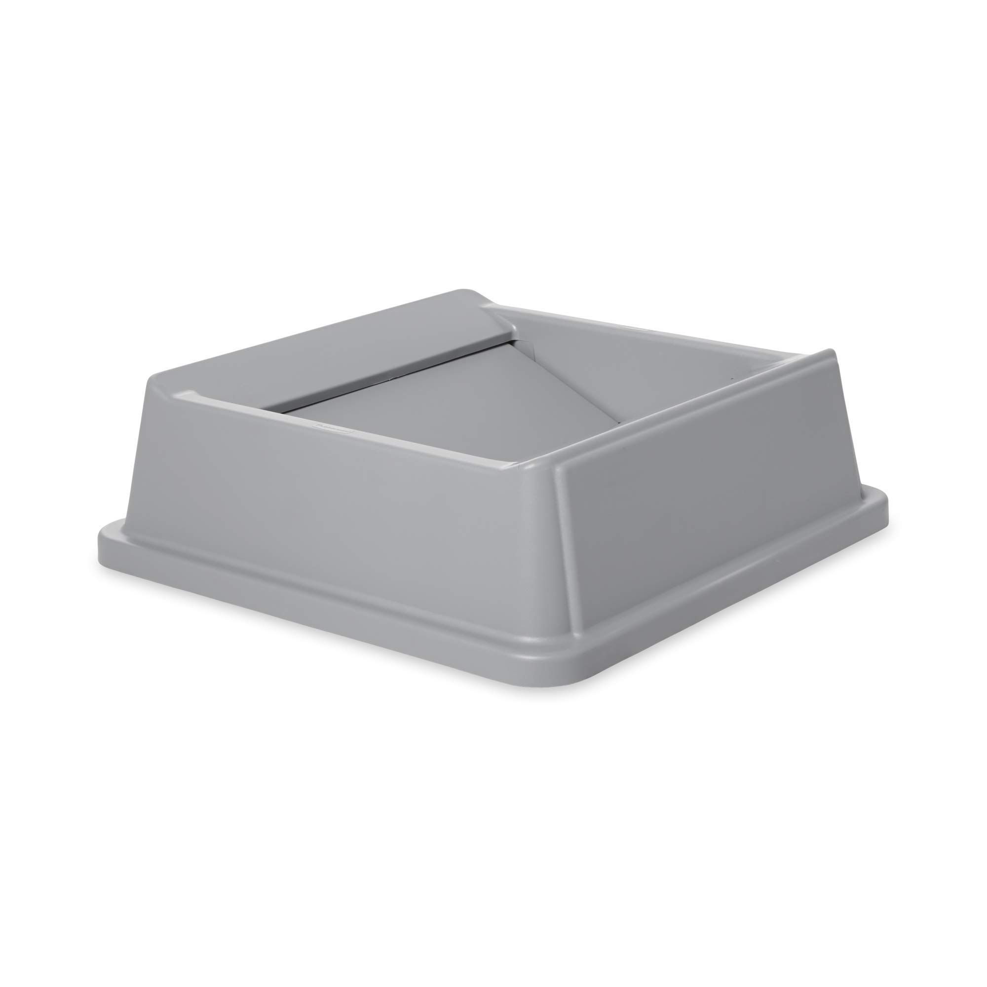 Rubbermaid Commercial Products Untouchable Square Swing Lid for 35G & 50G Containers, Gray (FG266400GRAY) by Rubbermaid Commercial Products