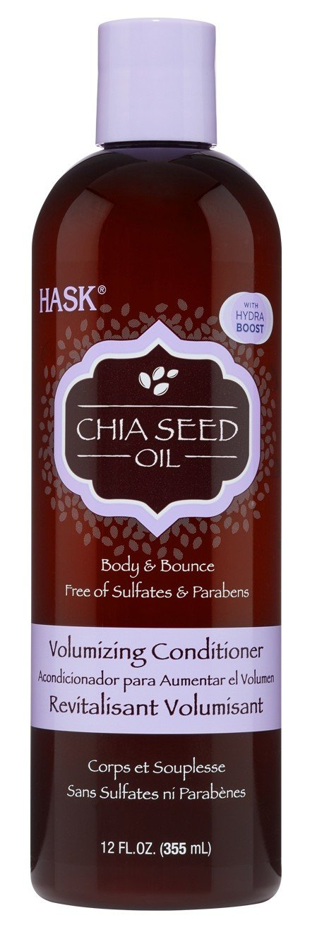 Hask Conditioner Chia Seed Oil Volumizing 12 Ounce (355ml) (2 Pack)