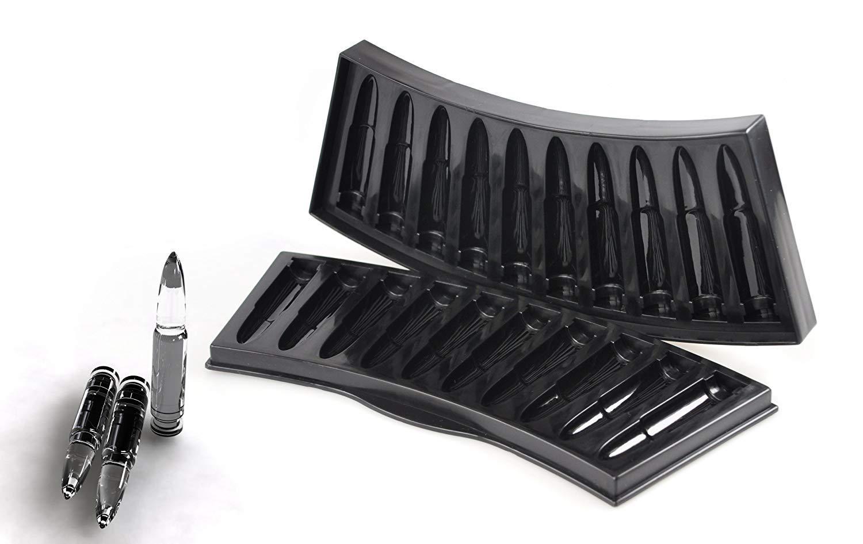 Lyanther Stampo per vaschetta per cubetti di ghiaccio per senape - AK Bullet