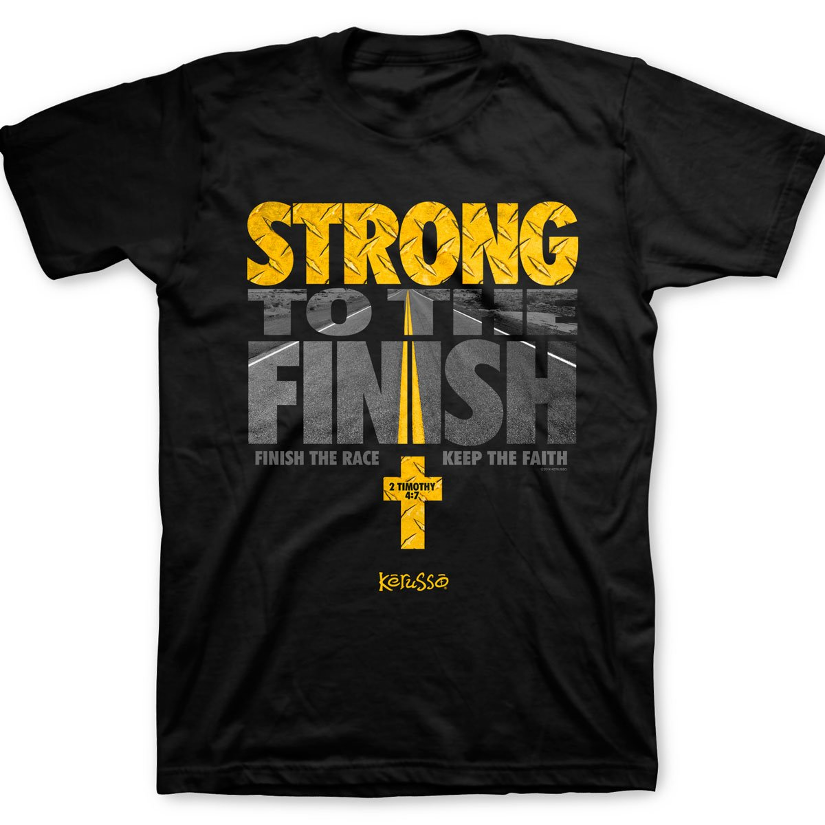 Strong To The Finish T Shirt Christian Fashion Gifts
