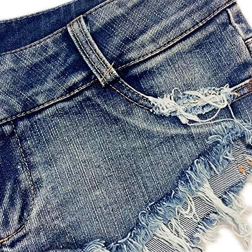 Femme Denim Hot Jean Ultra t COMVIP te Pants Bleu de Short Mini Court Nuit b Bo Jean en wzqXqtYZ
