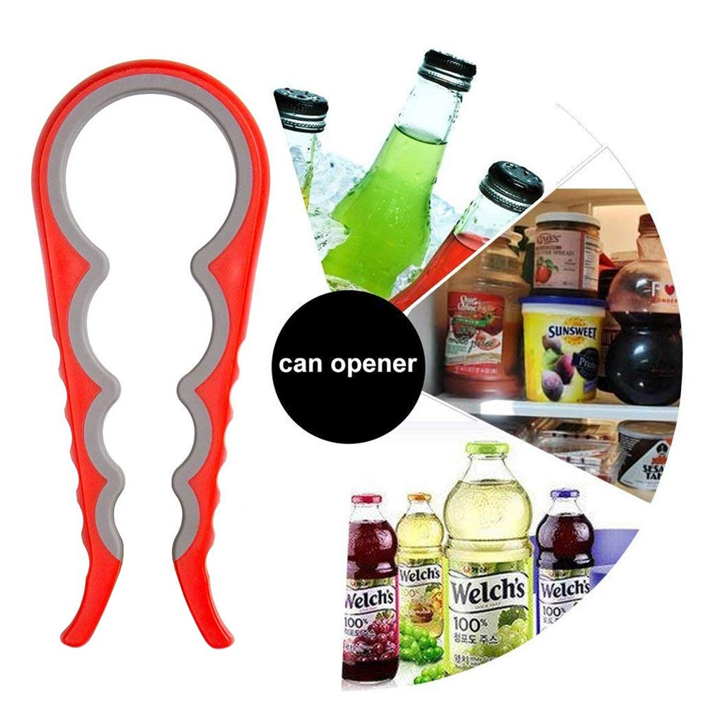 Jar Opener,Garyesh Quick Lid Opening Grip For Cooking or Everyday Use [4 PACK] Simple To Use For Children, Weak Hand,Elderly and Arthritis Sufferers - Open any Jar or Bottle With Ease by Garyesh (Image #4)