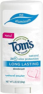 product image for Toms of Maine Natural Powder Long Lasting Deodorant Stick, 2.25 Ounce - 6 per case.