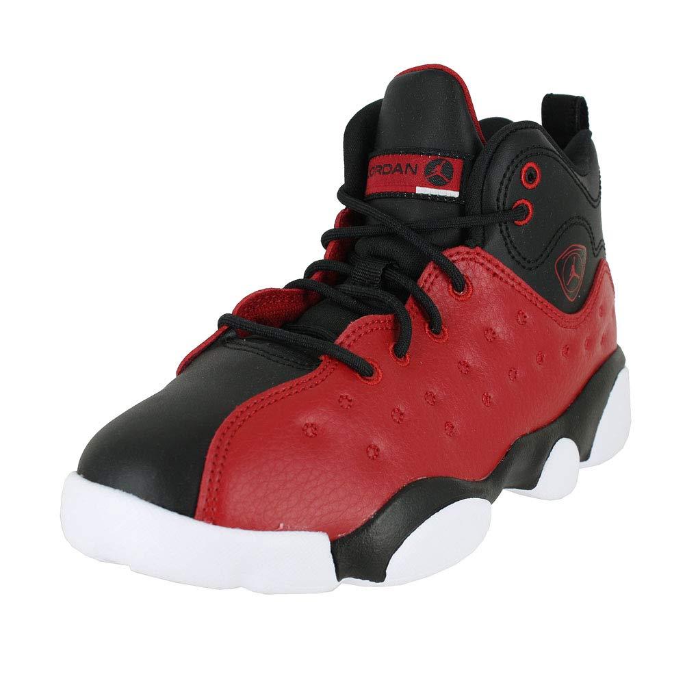 6cfd7d9c9fc Galleon - Jordan Kids Jumpman Team II PS Gym RED Black White Size 13
