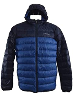 Eddie Bauer Mens Cirruslite Hooded Down Jacket (M, True ...