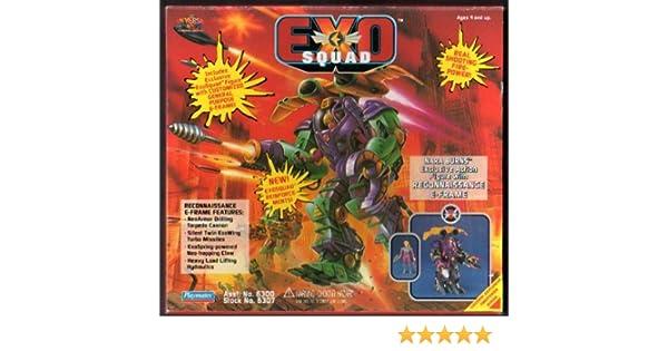 Amazon.com: Exo Squad SNara Burns with Reconnaissance E-Frame: Toys & Games