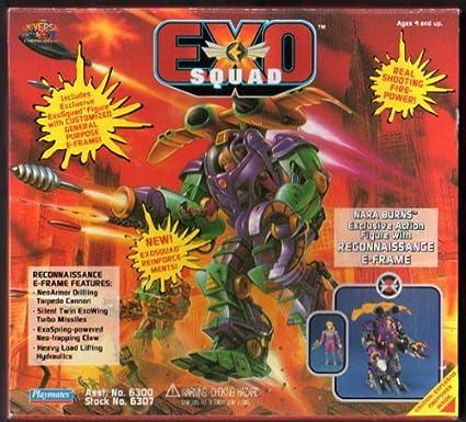 Exo Squad SNara Burns with Reconnaissance E-Frame
