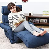 Lazy sofa chair tatami casual folding home wave window pad floor couch-beds deck chair recliner-C
