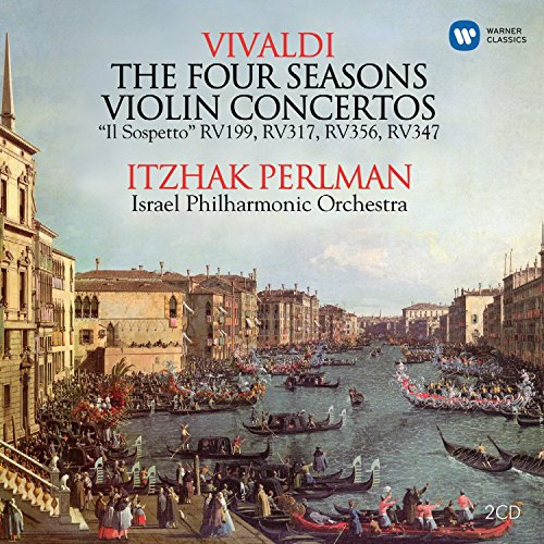 Price comparison product image Vivaldi:Violin Concertos; Four Seasons (2CD)