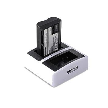 Weiss More Power - Batería para Nikon EN-EL15b (2050 mAh ...