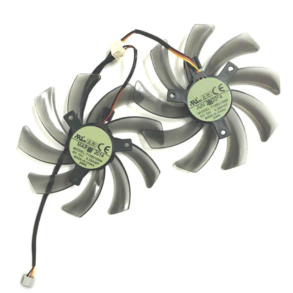 95MM T129215SM 12V 0.25A Cooler Gigabyte R667D3 R777OC R9 Cooling Fans (2pcs/lot)