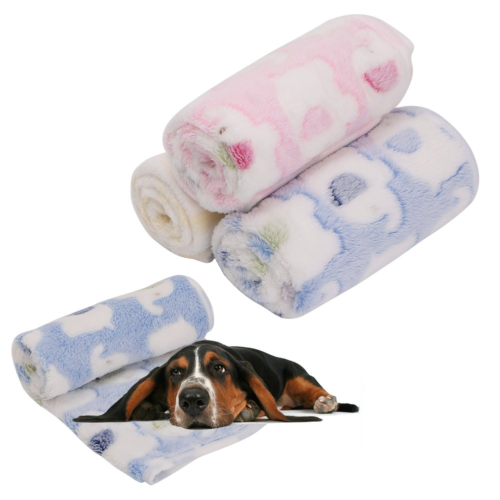 60%OFF Blanket For Pet - Yumian Warm Soft Pet Blanket Dogs Puppy Kitten Cat Bed Pad Elephant Print Flannel Mat