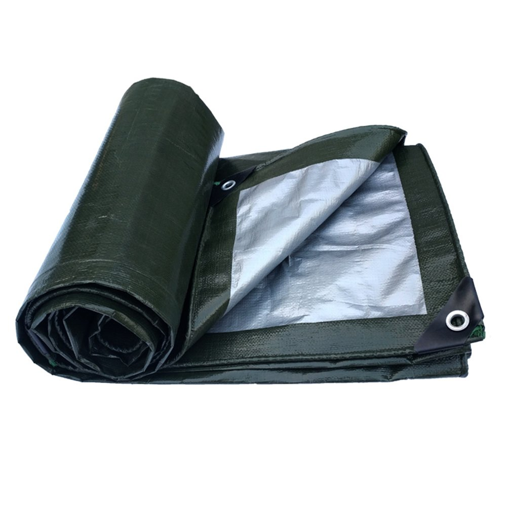 PENGFEI オーニング 防水 庭園 シェード 作物 防湿性 防塵の 防風 耐摩耗性 抗酸化、 ダークグリーン+グレー、 厚さ0.35MM、 180g / m 2、 10サイズのオプション ( 色 : Green+gray , サイズ さいず : 3x4M ) B07BNNMG9W 3x4M|Green+gray Green+gray 3x4M