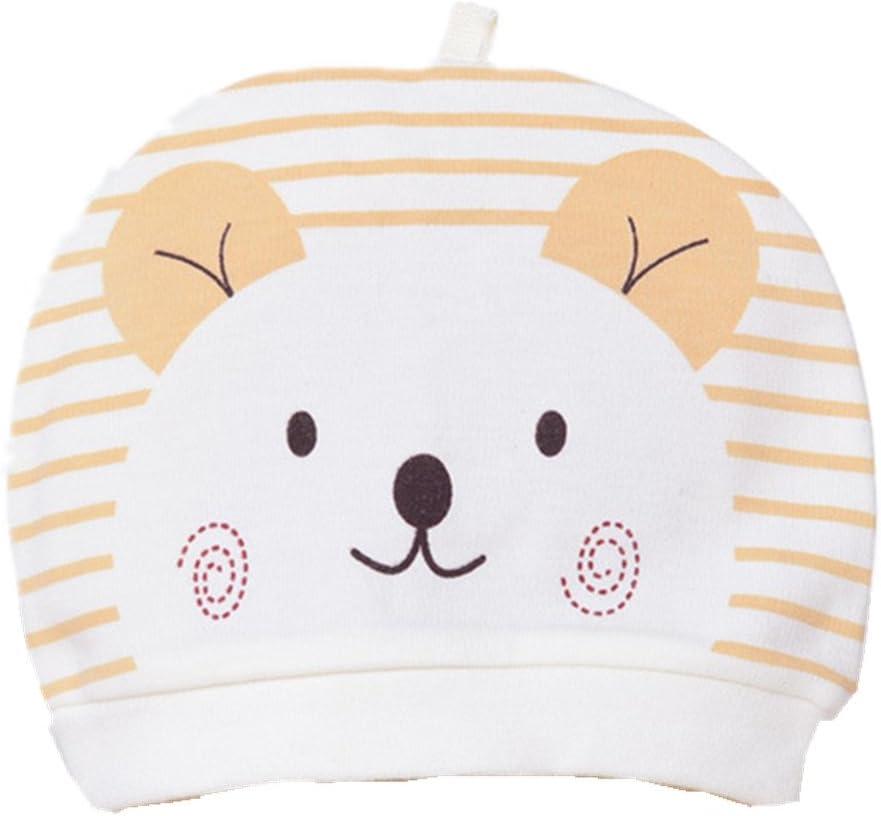 Frbelle® Gorro de 100% Algodón de Invierno para Bebé Recién nacidos Regalo de Recimiento Unisexo 0 a 6 Meses Amarillo: Amazon.es: Bebé