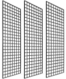 Only Garment Racks #1900B (Box of 3) Grid Panel for Retail Display - Perfect Metal Grid for Any Retail Display, 2'x 6…