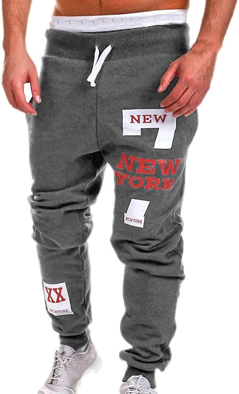 New York Moda para Algodón Hombre Hombres Hombres Pantalones ...