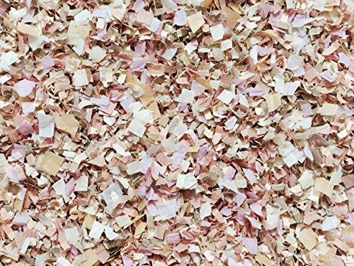 Soft Blush Champagne Peach Ivory Confetti Biodegradable Tissue Paper Flower Basket Aisle Decorations Decor InsideMyNest (25 Handfuls)