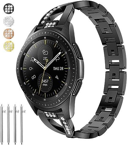 Amazon.com: Taolla para Gear S3 Frontier/Classic Watch Bands ...