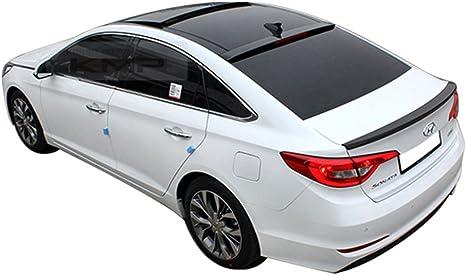 For Sonata YF 6th Gen Model 4Dr Carbon Fiber Trunk Tail Wing Spoiler Lip 2011+
