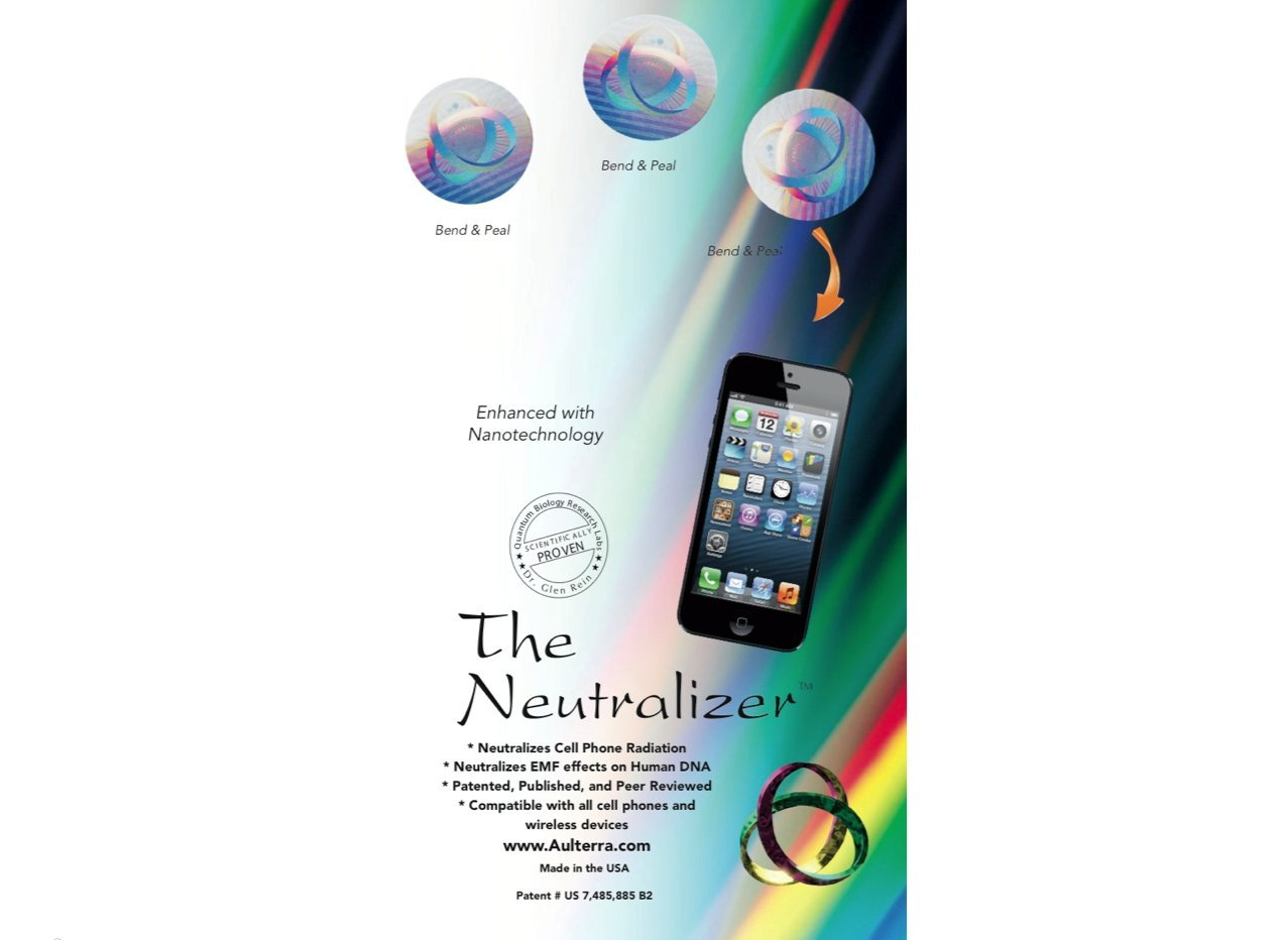 Aulterra EMF Neutralizer - Protection From Cell Phone & Computer (Pack of 3) (New 2016!)