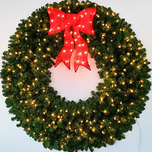 60 Wreath With Led Lights in US - 7