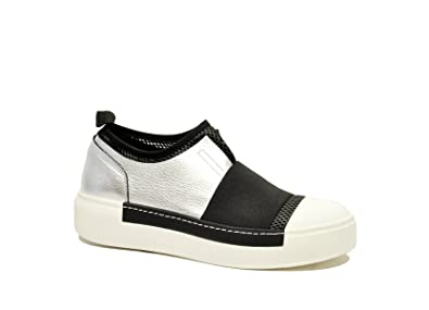 14c6a8906704f5 VIC MATIÉ Damen 1R5702dq36tnht405 Weiss Leder Slip On Sneakers ...