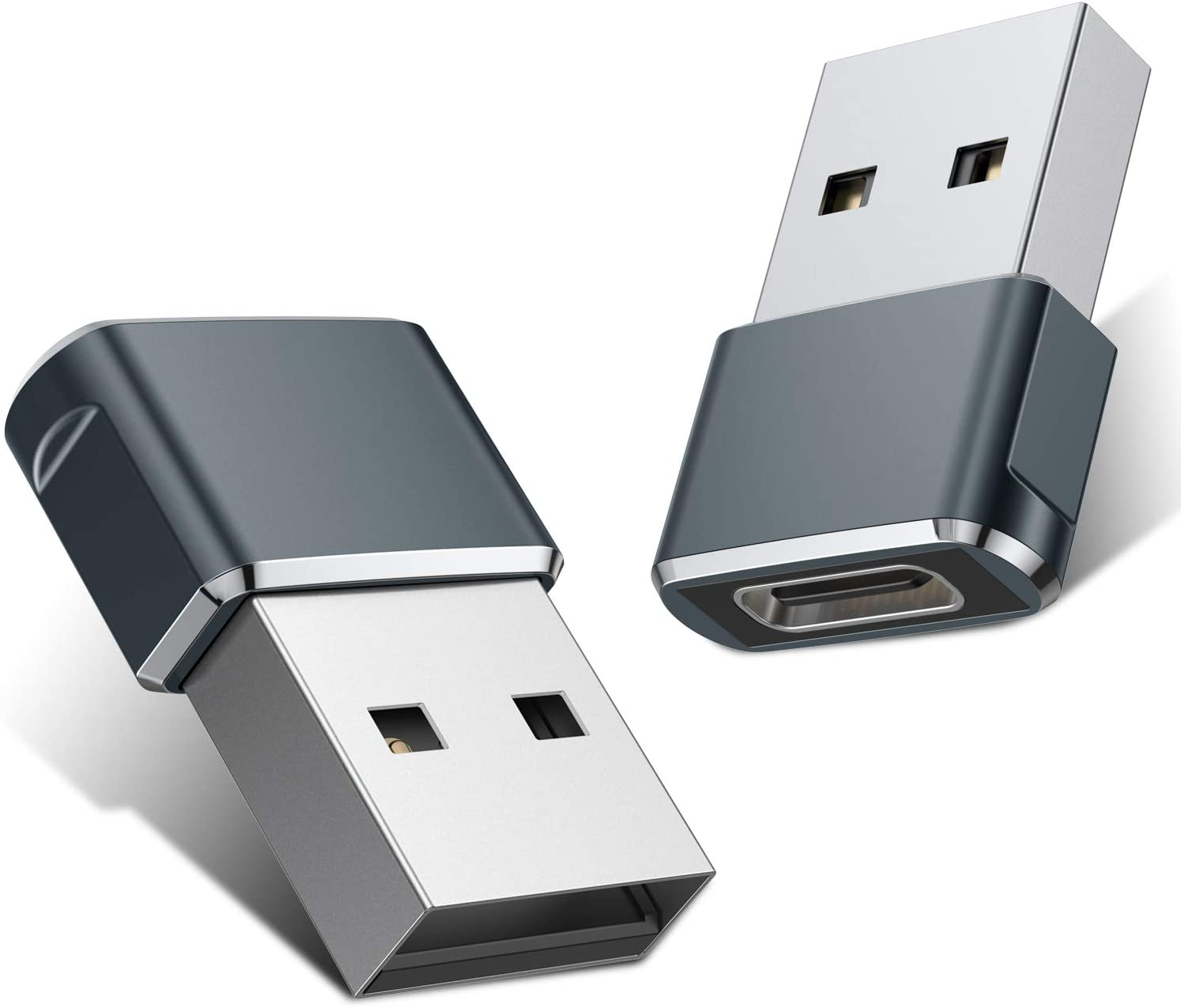 Amazon.com: USB C Female to USB Male Adapter (2 Pack),Type C to ...