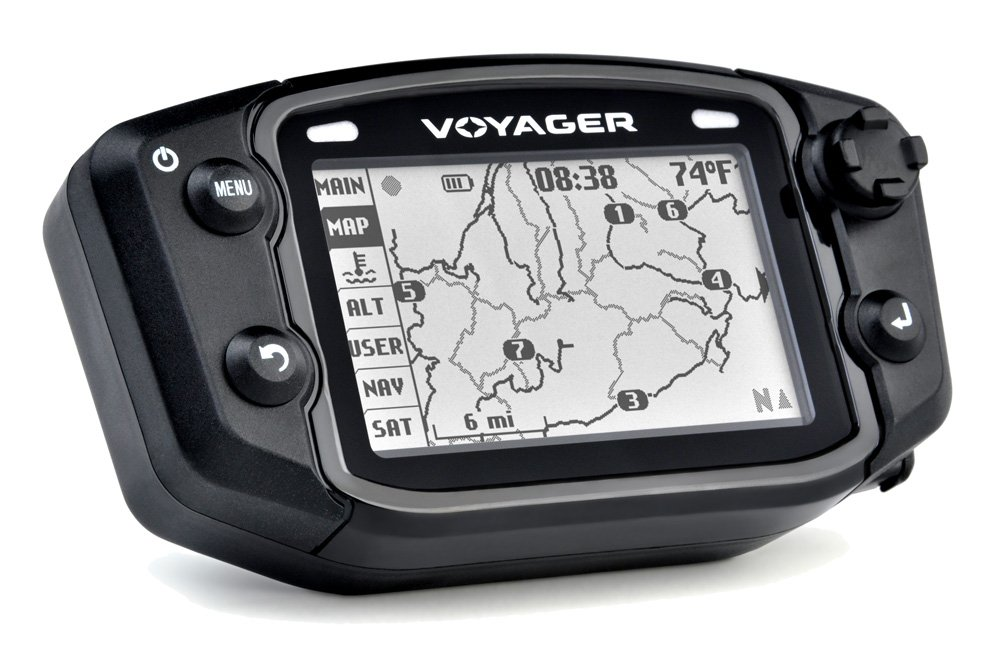 Trail Tech 912-2020 Voyager Stealth Black Moto-GPS Computer tr-564905