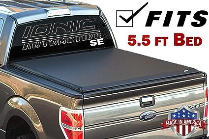 Amazon Com Ionic Premium Se Roll Up Tonneau Truck Bed Cover 2016 2018 Nissan Titan 5 5 Ft Bed Automotive