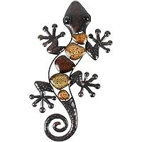 Liffy Gift Metal Handmade Lizard Design Wall Decor for Home, Patio, Porch, Garden Wall