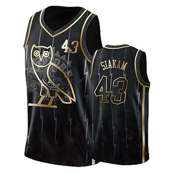 AMJUNM Hombre Mujer Ropa de Baloncesto Toronto Raptors 43# Siakam ...