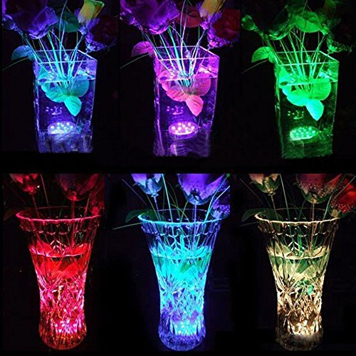 Hitopin-Submersible-LED-Lights-Remote-Controlled-Battery-Operated-Wireless-Multicolor-Waterproof-Underwater-Submersible-Led-Lights-for-Pond-PartyWedding-Vase-Base-Christmas-Home-Lighting