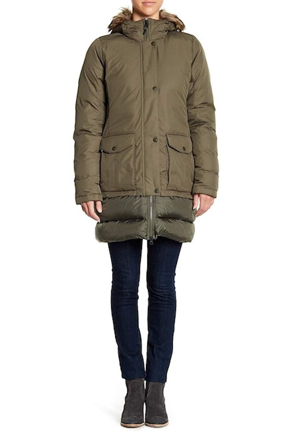 amazing quality finest fabrics special discount Amazon.com: The North Face Women's Tuvu Water Repellent Faux ...