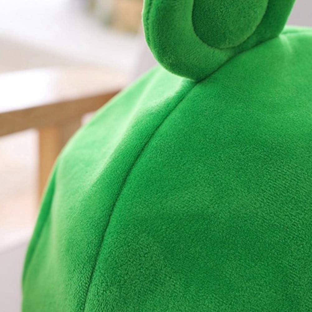 Carino Peluche Rana Cappello Sciarpa cap Orecchie Cappello Lavorato A Maglia Quotidiano Copricapo Completo novit/à Festa Vestire Costume Cosplay