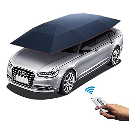 Amazon.com: SKYTOU Car Tent Portable Automatic Car Umbrella ...