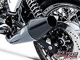 Moto Guzzi V7 Cafe Racer /Classic 08-11 Zard Full Exhaust System Ceramic Black
