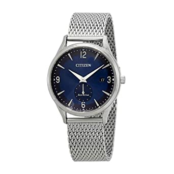Citizen Watches Mens BV1110-51L Eco-Drive Silver Tone One Size