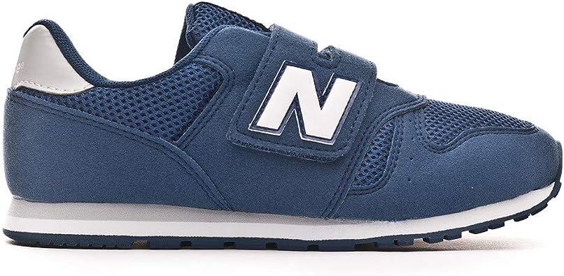 Aturdir lema crucero  NEW BALANCE - Deportiva 373 Classic Kids Youth Velcro Sintético Niños  Color: Azul Talla: 32: Amazon.es: Zapatos y complementos