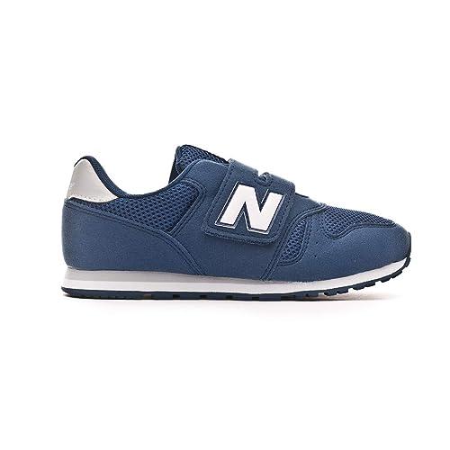 new balance niño azul velcro
