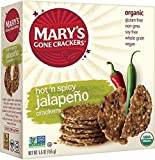 Mary's Gone Crackers, Jalapeño, 5.5 Ounce