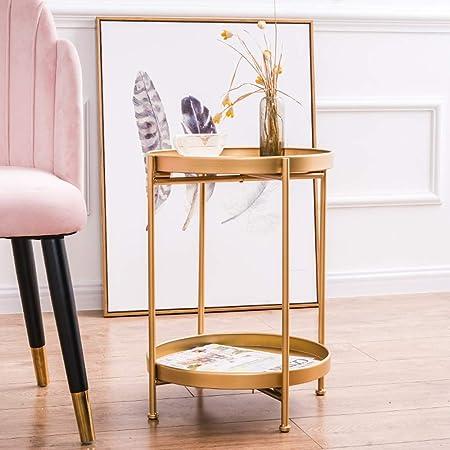 Tables D\'appoint Rondes Tables D\'appoint De Salon Canapé Fer ...