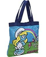 Loungefly Smurfette With Rainbow Tote - Baby Blue