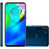 Celular Motorola Moto G8 Power Azul 4gb Tela 6.4 64gb Camera 16mp 8mp 8mp 2mp