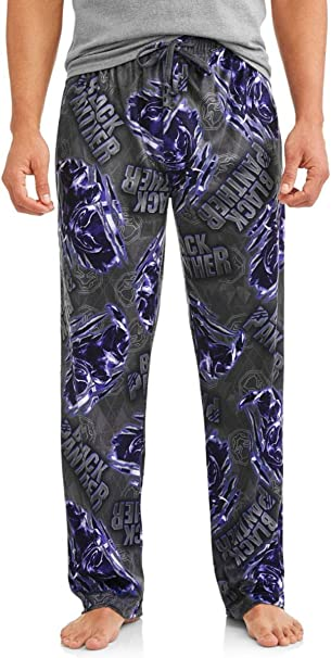 BLACK PANTHER Avengers ENDGAME movie MEN/'S NEW Sleep LOUNGE Pajama FLEECE Pants