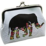 Koly Women's Lady Elephant Wallet Card Holder Coin Purse Clutch Handbag