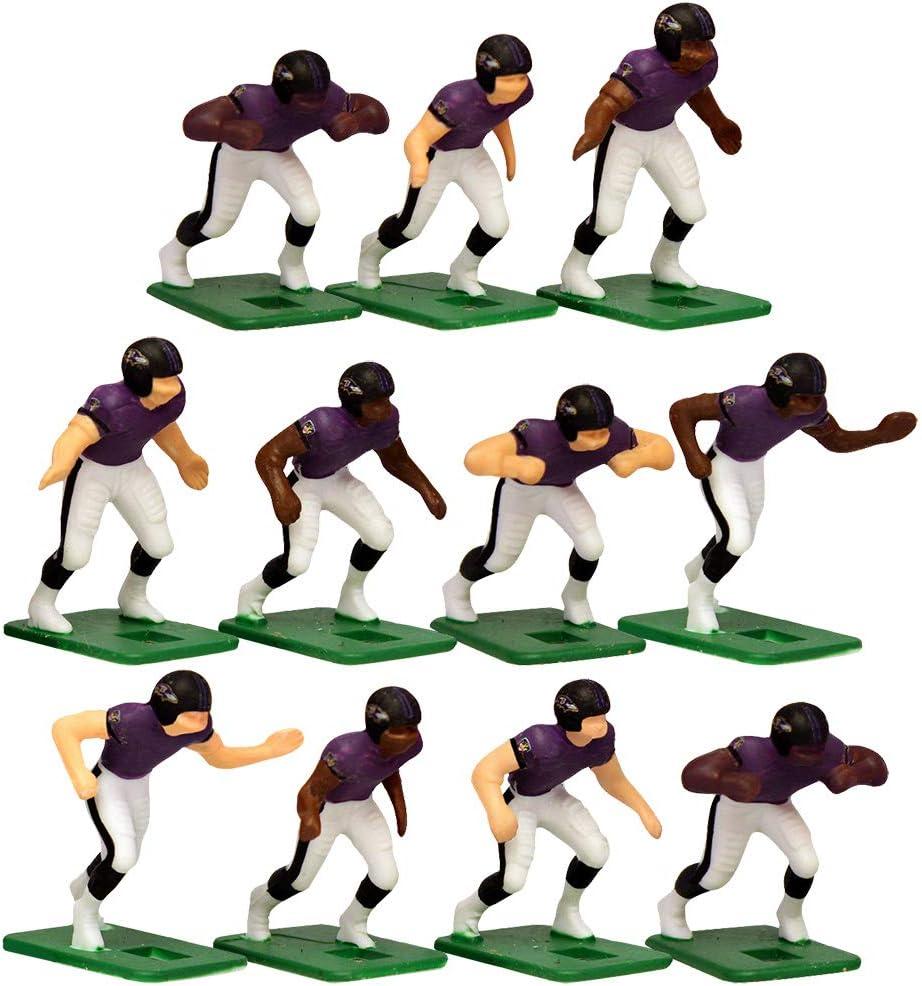 Baltimore RavensHome Jersey NFL Action Figure Set