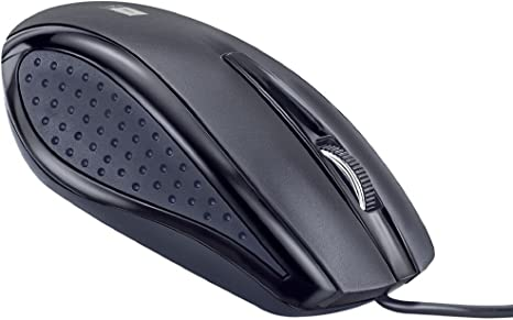 iBall Style36 Advanced Optical USB Mouse,Black Keyboards, Mice   Input Devices