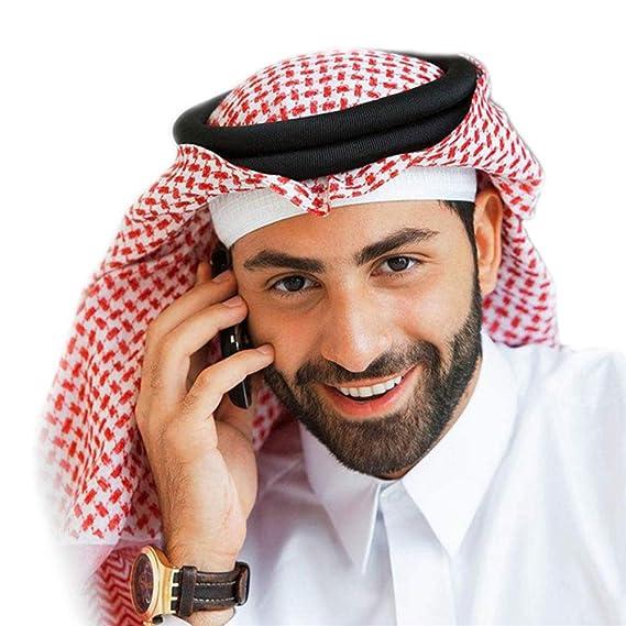 Baronhong Classic Middle Eastern Muster Arabische Kopfbedeckung